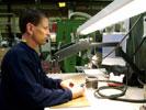 Arbete med MIROFLEX avlastar nacken genom en mer upprätt arbetsställning